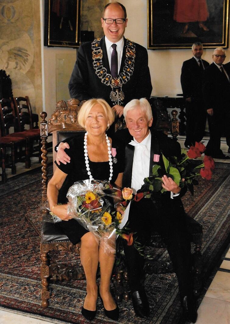 Barbara i Grzegorz Sutt z p. prezydentem