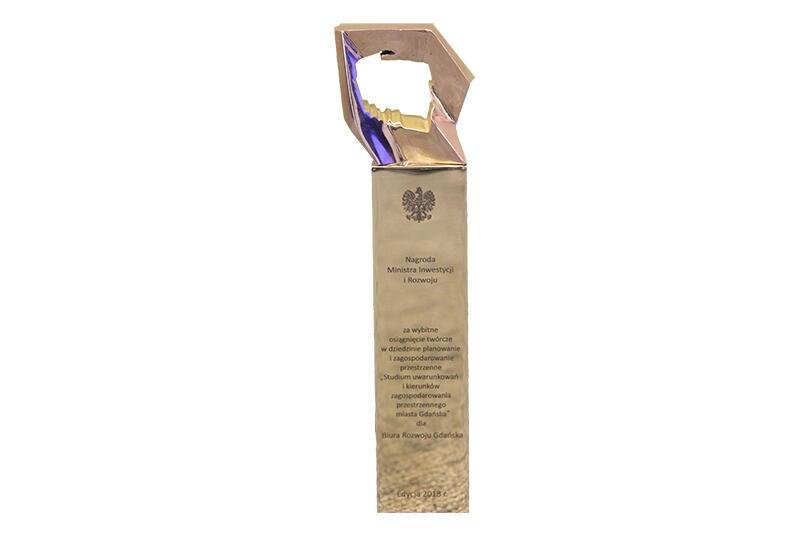 Nagroda Ministra Inwestycji i Rozwoju za wybitne osiągnięcia twórcze w dziedzinie planowania i zagospodarowania przestrzennego