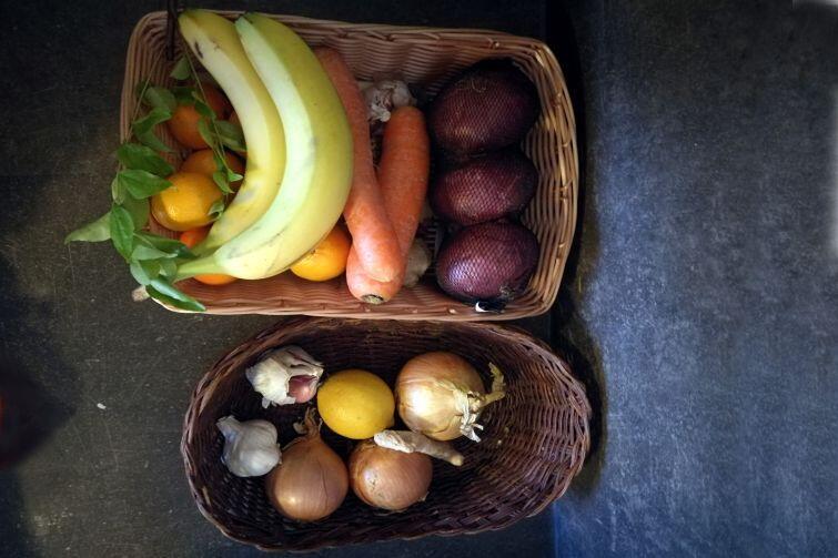 Warzywa we wspólnej kuchni
