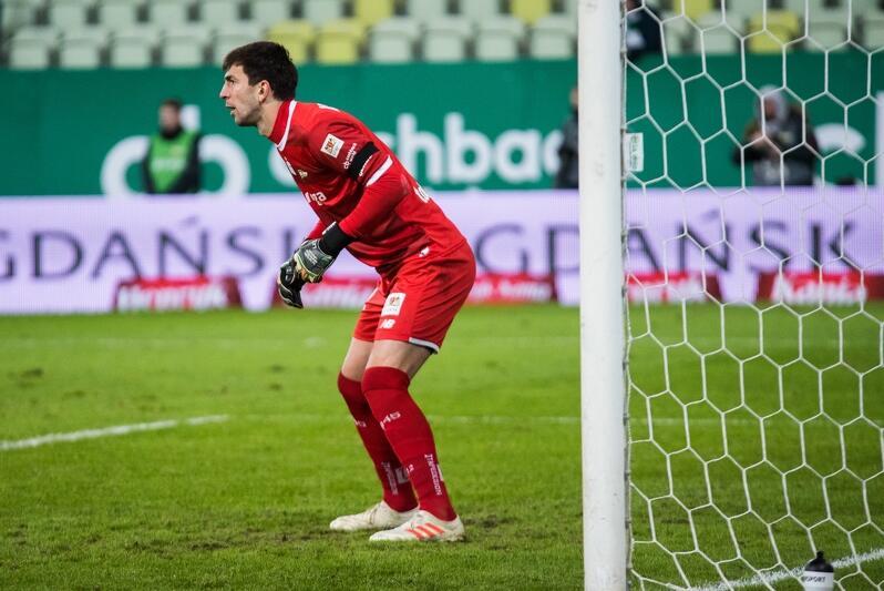 Lechia ma najmniej straconych gol w tym sezonie, Dusan Kuciak najmniej przepuszczonych strzałów