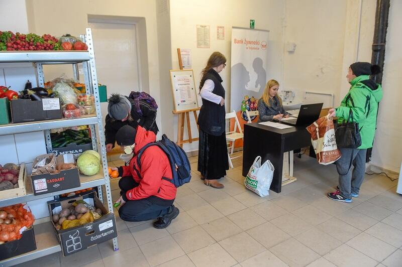 Sklep społeczny przy ul. Wolności na zlecenie MOPR w Gdańsku prowadzi Bank Żywności w Trójmieście