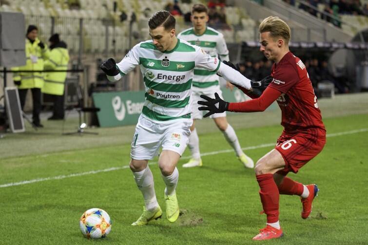 Bardzo szybki i pracowity Konrad Michalak jest coraz mocniejszym punktem drużyny biało-zielonych