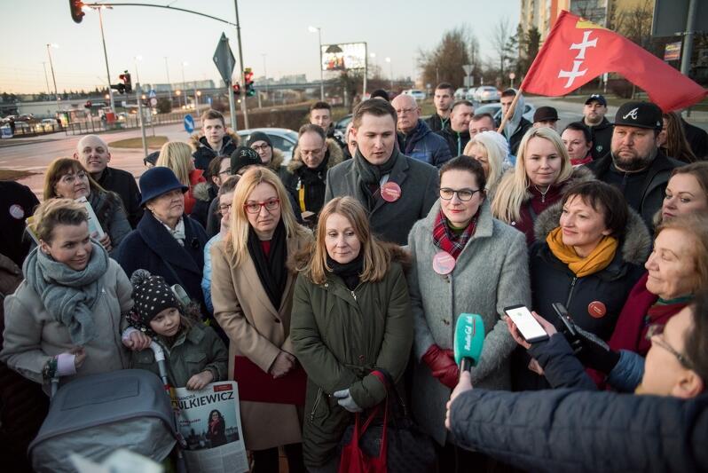 Poparcie dla Aleksandry Dulkiewicz wyraziła m.in. Agnieszka Owczarczak, Beata Dunajewska, Marianna Sitek-Wróblewska i Helena Turk
