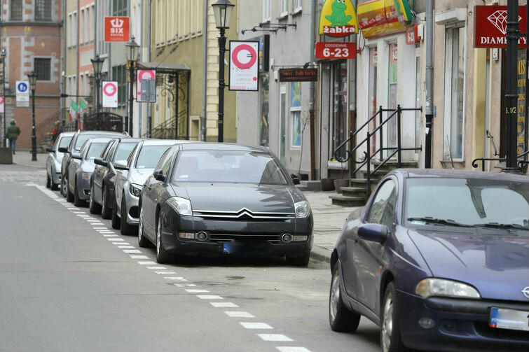 Strefa ograniczonego postoju przy ul. Węglarskiej na Głównym Mieście