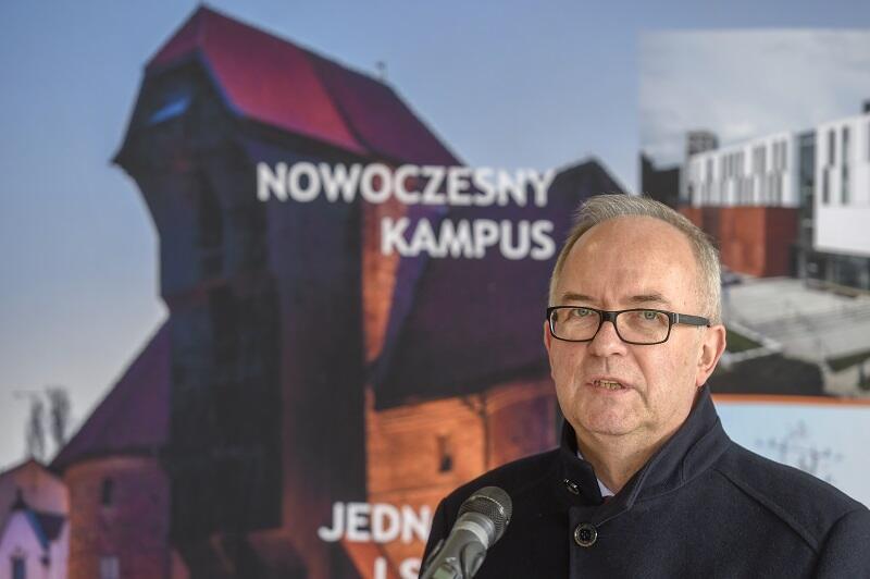 Prof. Jerzy Gwizdała rektor Uniwersytetu Gdańskiego