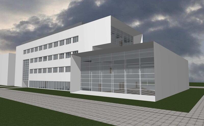 Instytutu Informatyki UG, wizualizacja