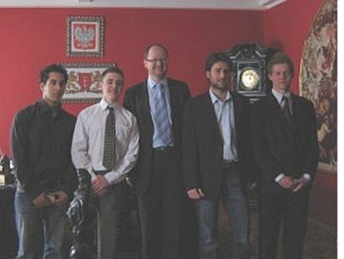 Delegacja Uniwersytetu w Essex u Prezydenta Miasta Gdańska