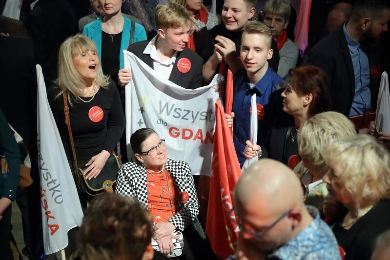 W sztabie wyborczym Aleksandry Dulkiewicz