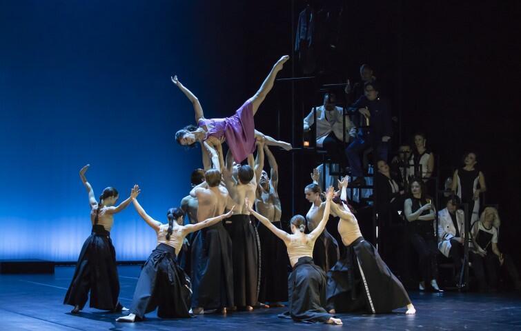 Balet Opery Bałtyckiej. Choreografię spektaklu przygotowała Izabela Sokołowska-Boulton
