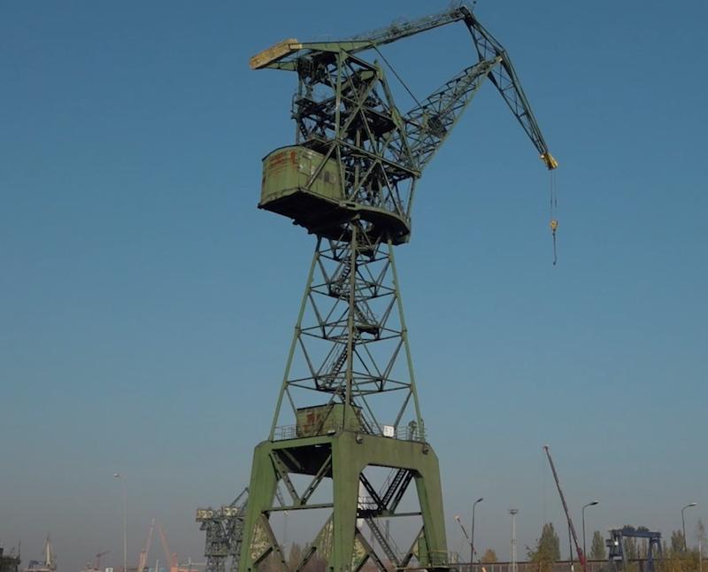 Żuraw M3 już niebawem ma stać się naszą gdańską wieżą Eiffla