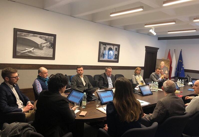 Spotkanie Zespołu Roboczego ds. Rewaloryzacji Wielkiej Alei Lipowej z Radą Wielkiej Alei Lipowej, 5 marca 2019 r.