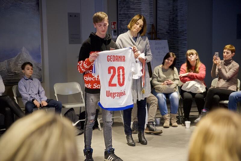 7 lat gry w piłkę nożną, kilometr przebiegnięty w 2 minuty i 52 sekundy - Maciej Węgrzyński to osoba, której największą pasją jest sport
