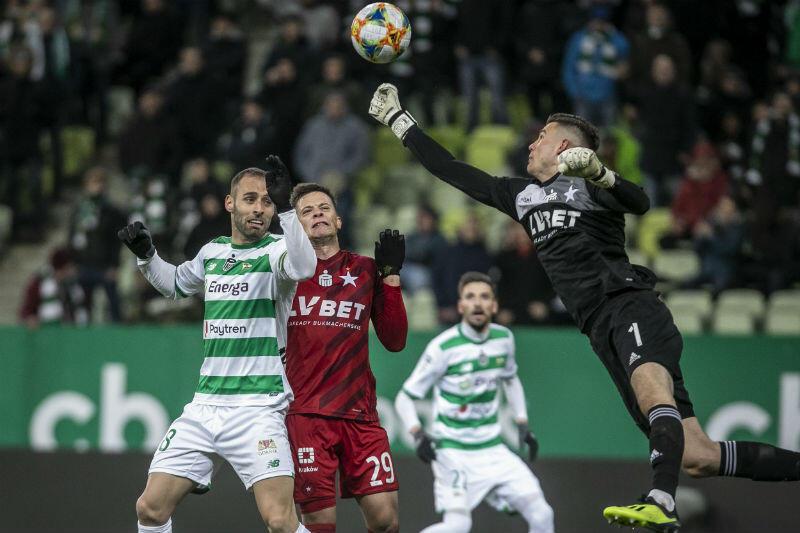 W dniu 23 lutego biało-zieloni podejmowali Wisłę Kraków. Wygrali 1:0