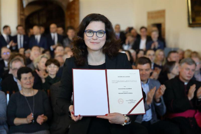 Aleksandra Dulkiewicz zaprzysiężona na prezydenta Gdańska