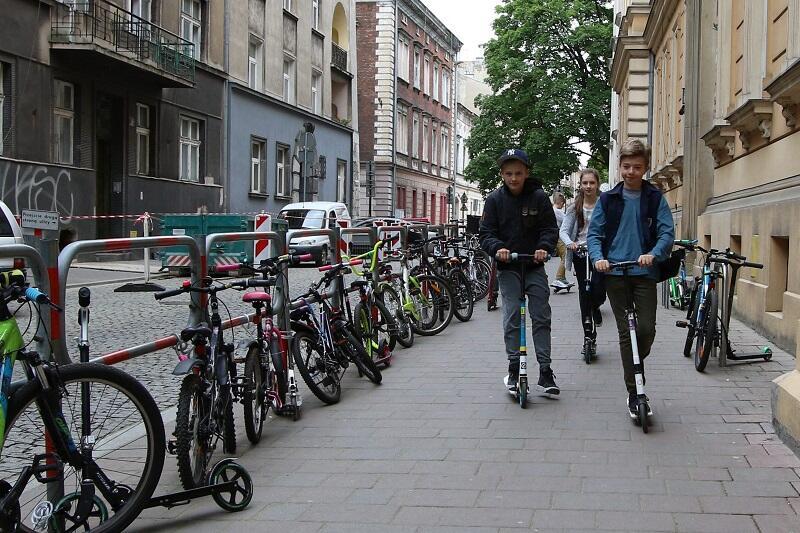 Rowerowy Maj w Krakowie
