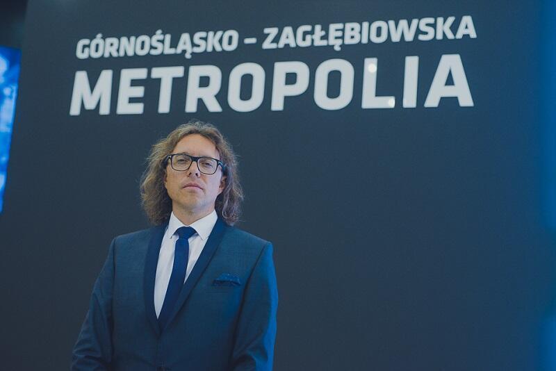 Marcin Dworak, oficer rowerowy Górnośląsko - Zagłębiowskiej Metropolii (GZM)