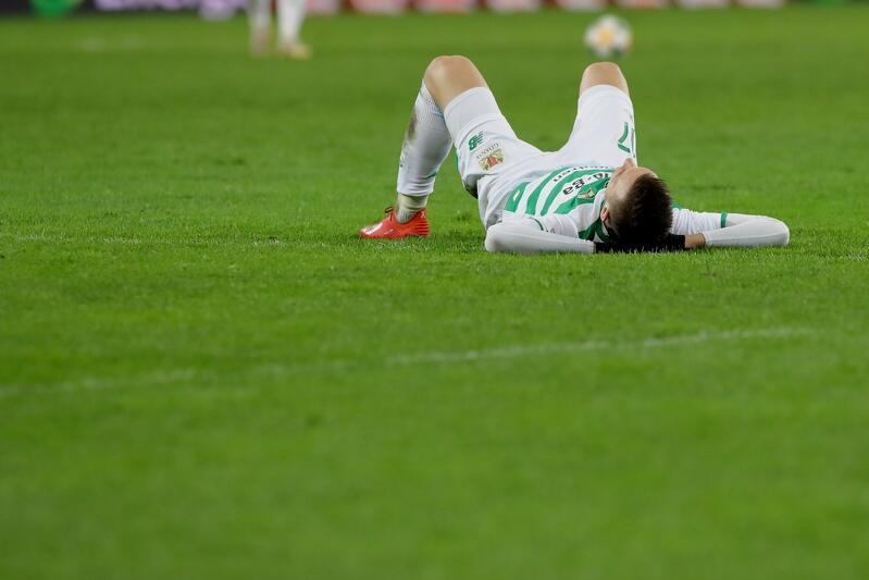 Biało-zielonym nie udało się wygrać z 15. zespołem ekstraklasy