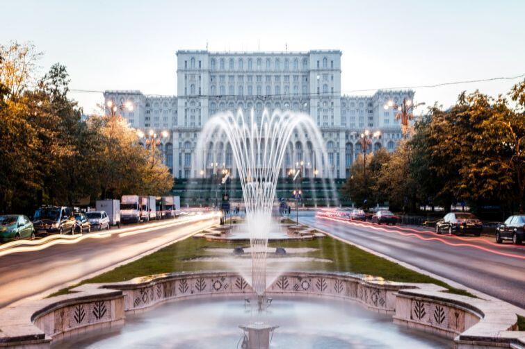 Bukareszt. Pałac Parlamentu - miejsce szczytu