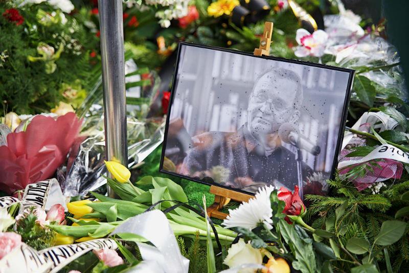 Florian Staniewski został pochowany na Cmenarzu Łostowickim