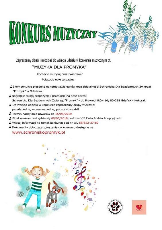 Muzyka dla Promyka to konkurs muzyczny dla dzieci.