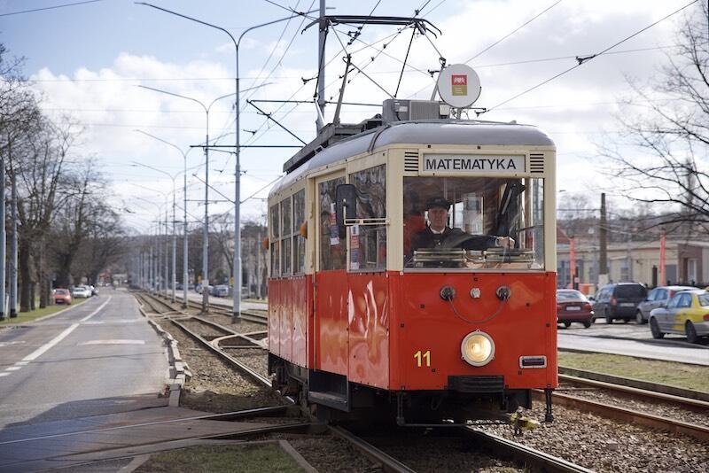 Matematyczny tramwaj wyjechał na gdańskie torowiska po raz drugi