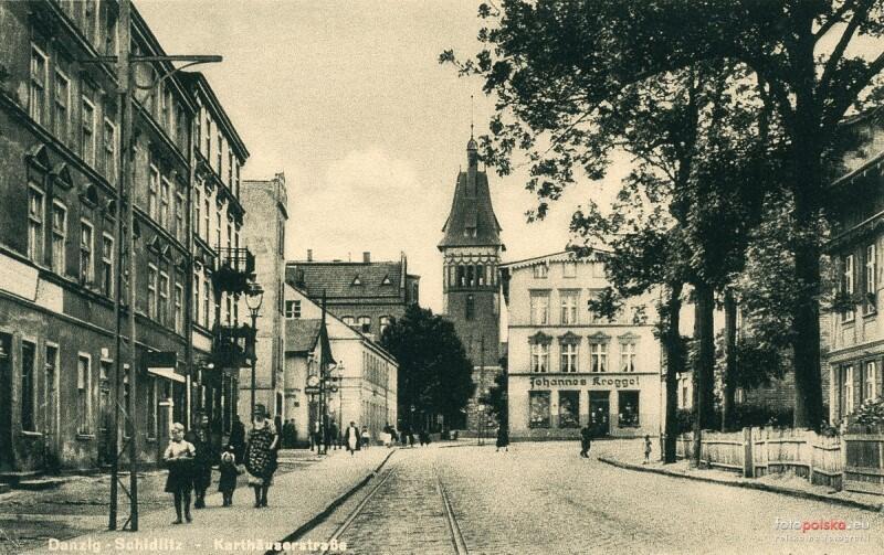 Obszar Siedlec zasiedlany były już od średniowiecza. W XIX wieku został włączony w granice miasta i zielone suburbium stopniowo zaczęło zamieniać się w dzielnicę robotniczą. Na zdj.: Siedlce w XIX wieku