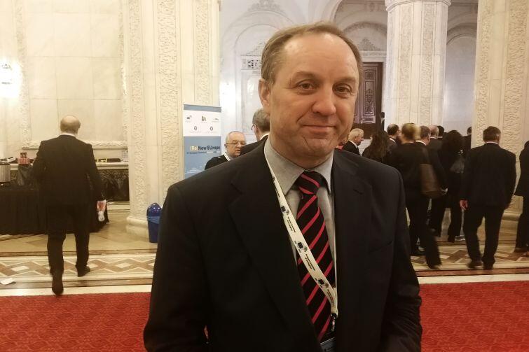 Marszałek województwa pomorskiego Mieczysław Struk na Szczycie Regionów i Miast w Bukareszcie