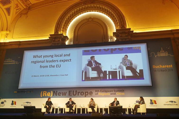 Czego młodzi liderzy regionalni i lokalni oczekują od UE? Debata z udziałem prezydent Gdańska Aleksandry Dulkiewicz