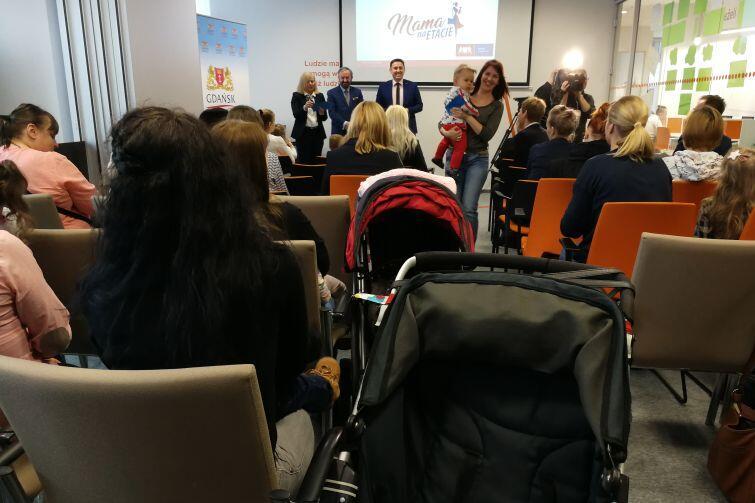 W programie Mama na etacie  udział bierze 50 pań (40 z Gdańska i 10 powiatu gdańskiego)