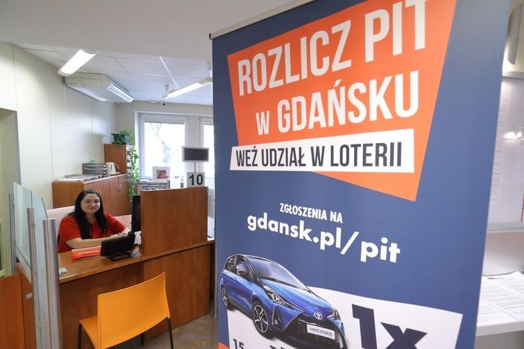 Loteria PIT w Gdańsku. Się opłaca!  jest organizowana w Gdańsku juz po raz trzeci.