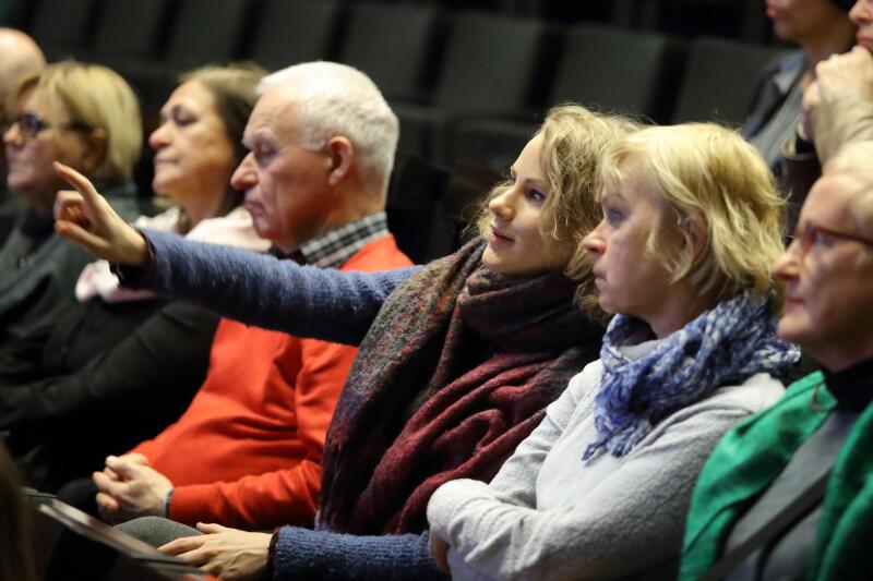 Słuchacze II Gdańskiej Debaty Obywatelskiej