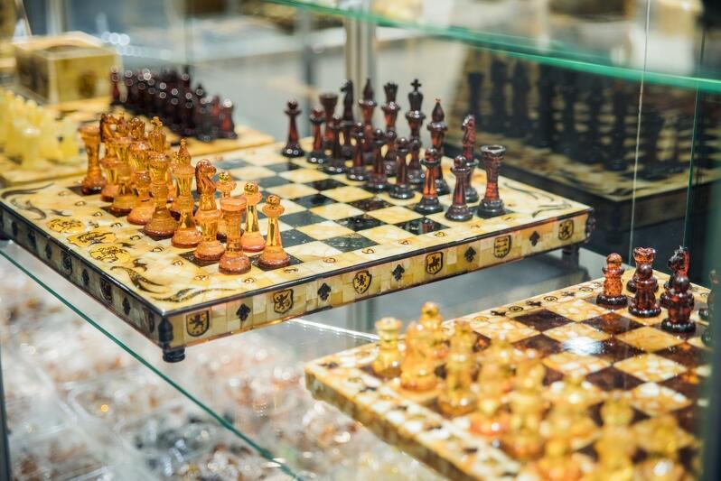 Bursztynowe szachy