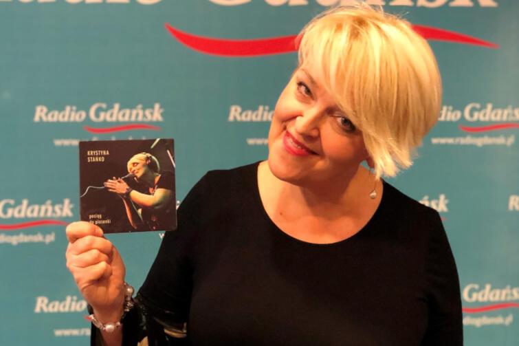 Nowa płyta Krystyny Stańko zawiera materiał z koncertu, który artystka zagrała we wrześniu w Radiu Gdańsk
