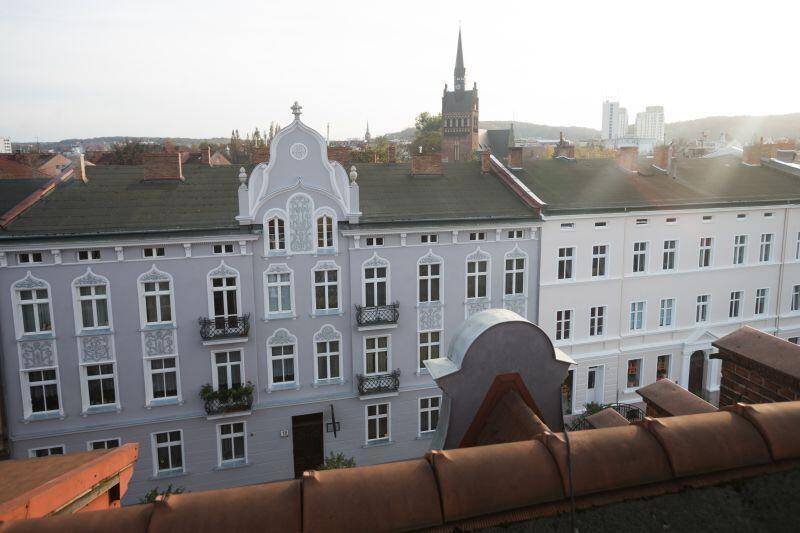 W ubiegłorocznej edycji konkursu na Najładniejszą Elewację Roku  laureatem została  wspólnota, która zamieszkuje budynek przy ul. Wajdeloty 18