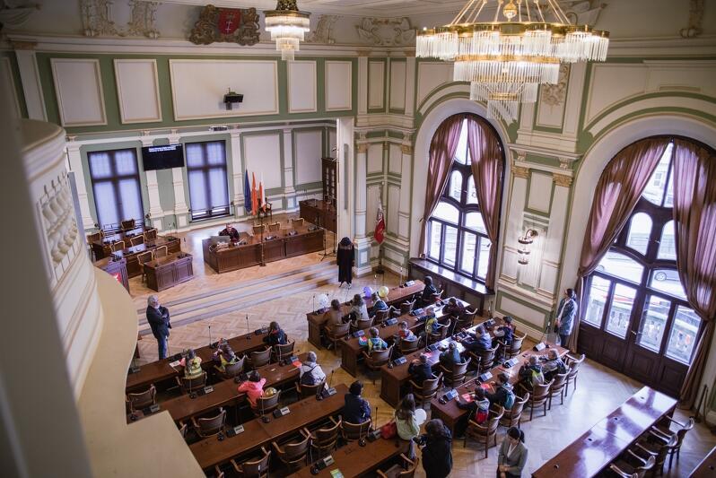 Ślubowania radnych dzielnic odbędą się w Sali Obrad Nowego Ratusza w Gdańsku