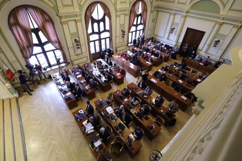 Uroczyste ślubowania radnych zaplanowano w gmachu Nowego Ratusza, przy ul. Wały Jagiellońskie
