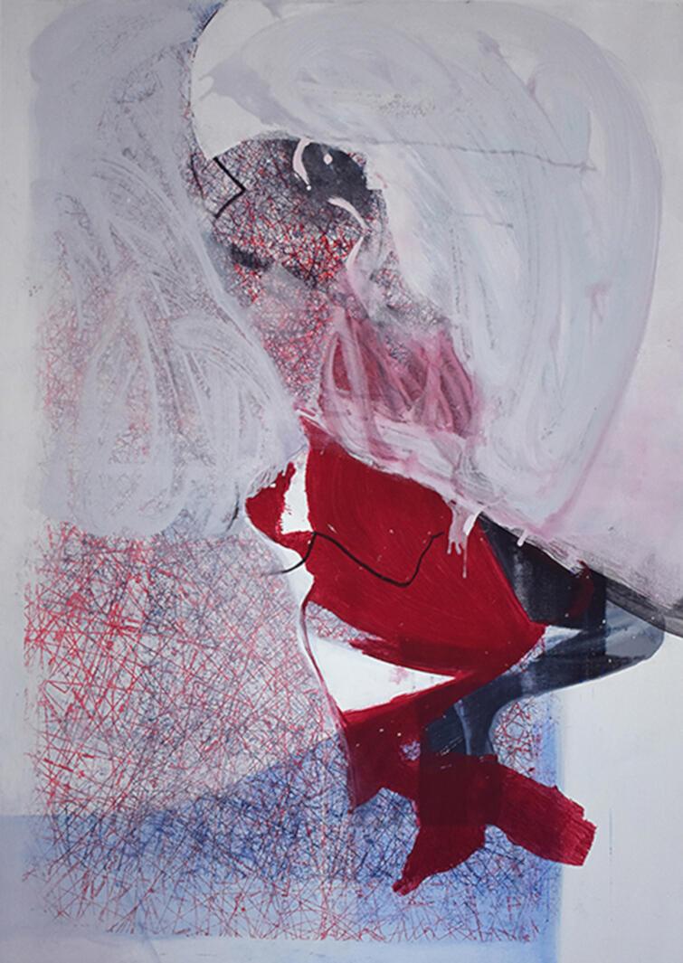 """Magdalena Sadłowska jedna z prac na wystawie """"EMKA"""""""