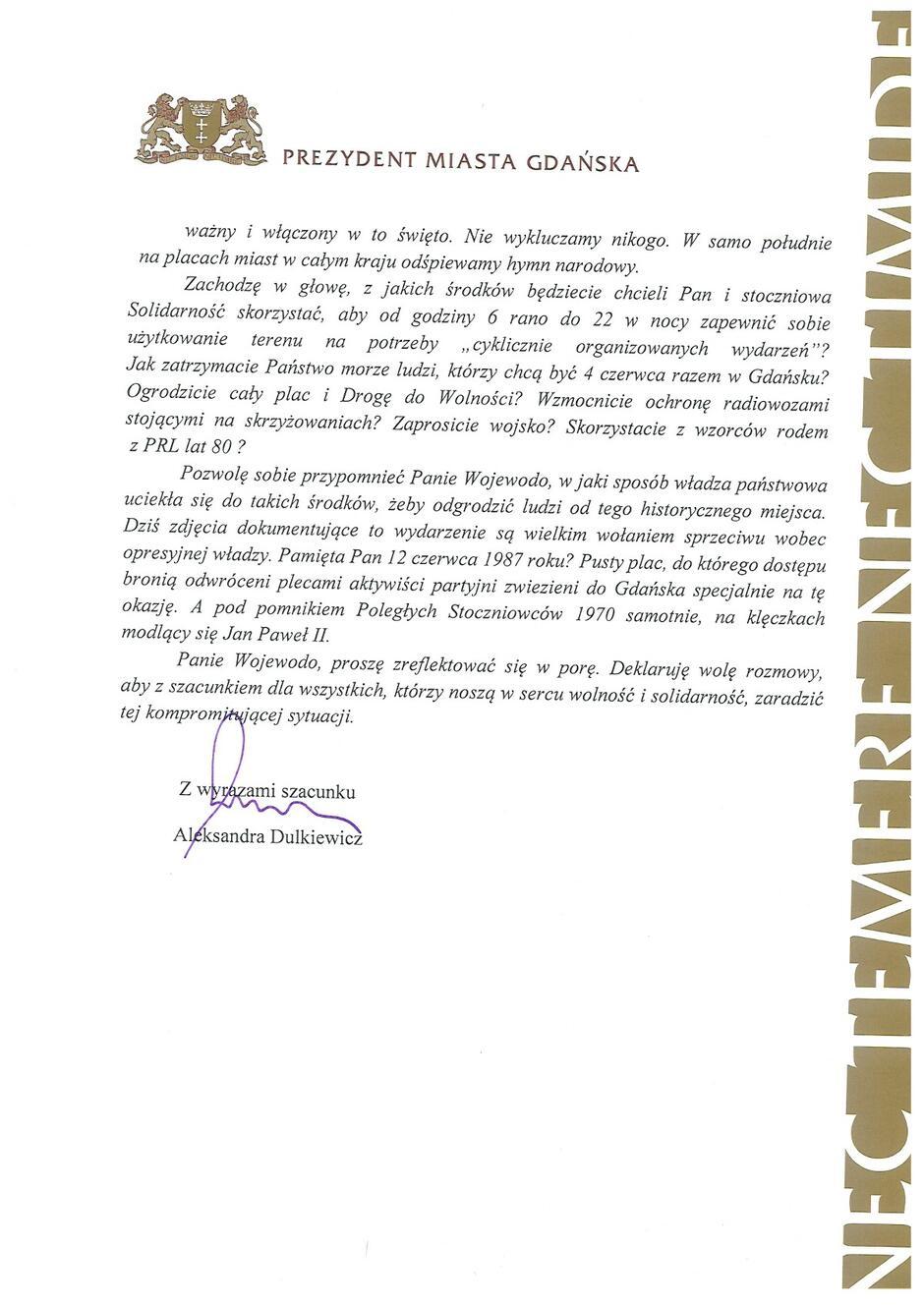 List do Wojwewody Pomorskiego_Strona_2