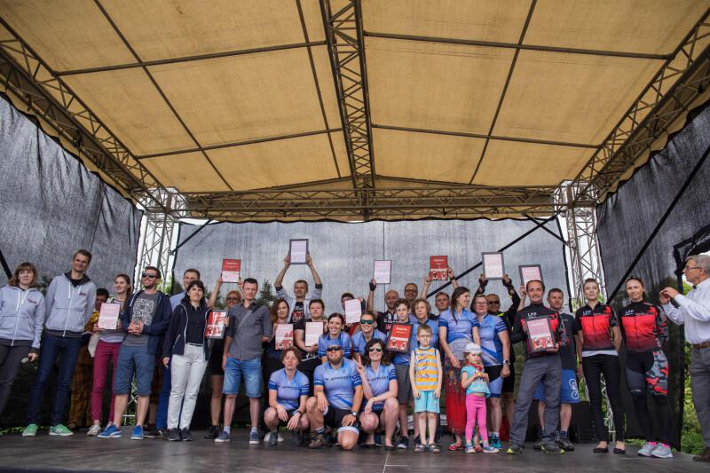 Pracodawcy gdańscy, którzy promują rowerzystów w swoim zespole od dawna czekali już na możliwość ceryfikacji swoich działań. Teraz będą mogli uzyskać certyfikat `Pracodawca przyjazny rowerzystom`. Nz. finał kampanii skierowanej do firm Kręć kilometry dla Gdańska `2017