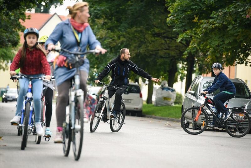 Trening jazdy w ruchu ulicznym dla gdańskich uczniów