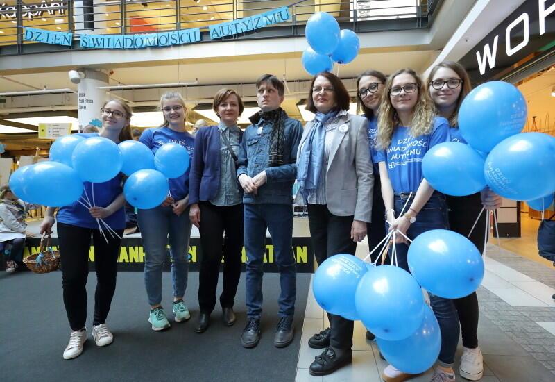 Wśród gości obchodów Światowego Dnia Autyzmu w Manhattanie była Małgorzata Rybicka, przewodnicząca Stowarzyszenia Pomocy Osobom Autystycznym