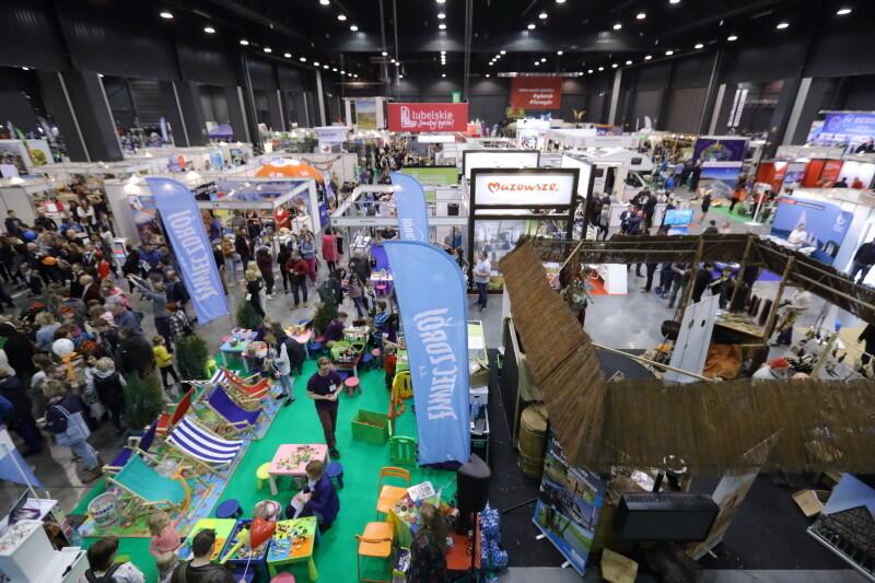 Festiwal czasu wolnego odbywa się w przestronnej hali liczącej 15 tys. m2