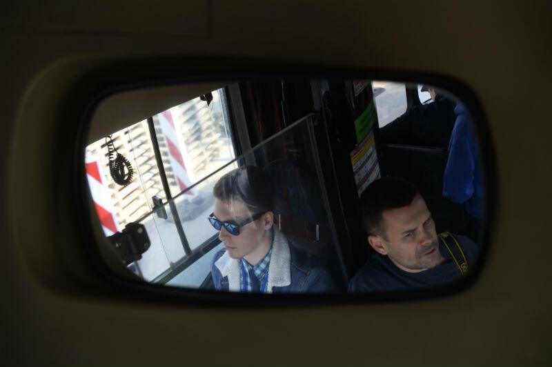 Pojazd prowadził kierowca i pasjonat Michał Nowicki