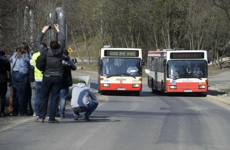 Ul. Nowa Medyków i Cygańska Góra. Pożegnanie w Gdańsku autobusów miejskich marki Merdedes serii O405N