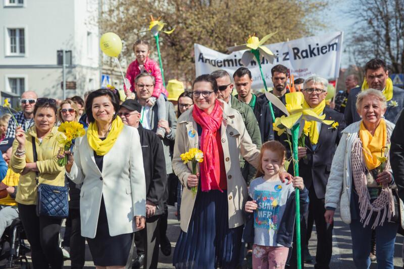 Wśród osób, które wzięły udział w tegorocznej paradzie była m.in. prezydent Aleksandra Dulkiewicz oraz gdańscy radni