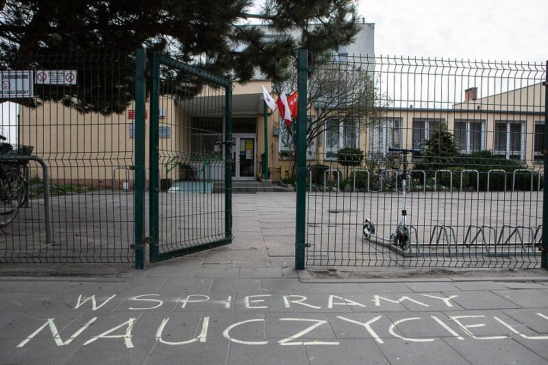 Szkoła Podstawowa nr 39 w Gdańsku, strajkuje tu 80 proc. z 61-osobowego grona pedagogicznego