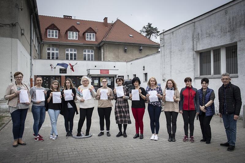 Szkoła Podstawowa nr 27 w Gdańsku - strajkuje 85 proc. kadry nauczycielskiej