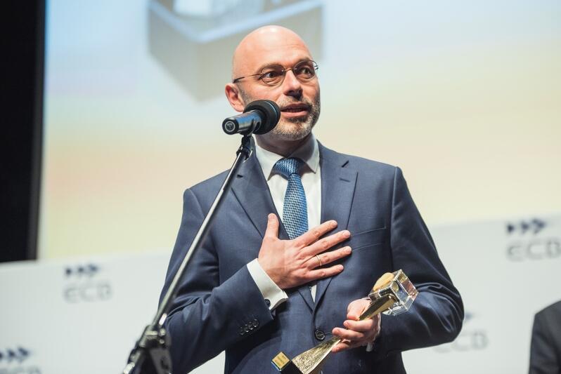Michał Kurtyka, sekretarz stanu w ministerstwie środowiska to jeden z laureatów