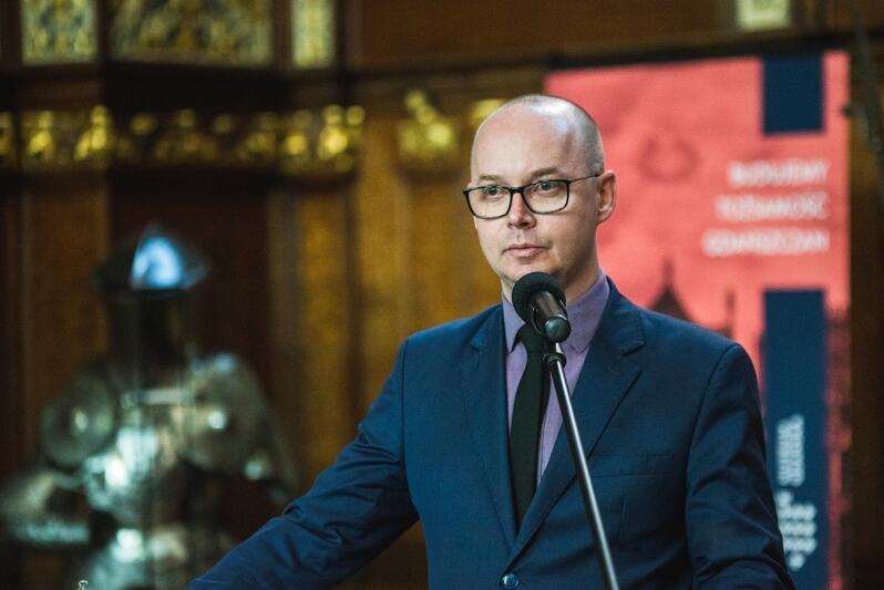Grzegorz Kryger, z-ca dyrektora Wydziału Rozwoju Społecznego Urzędu Miejskiego w Gdańsku