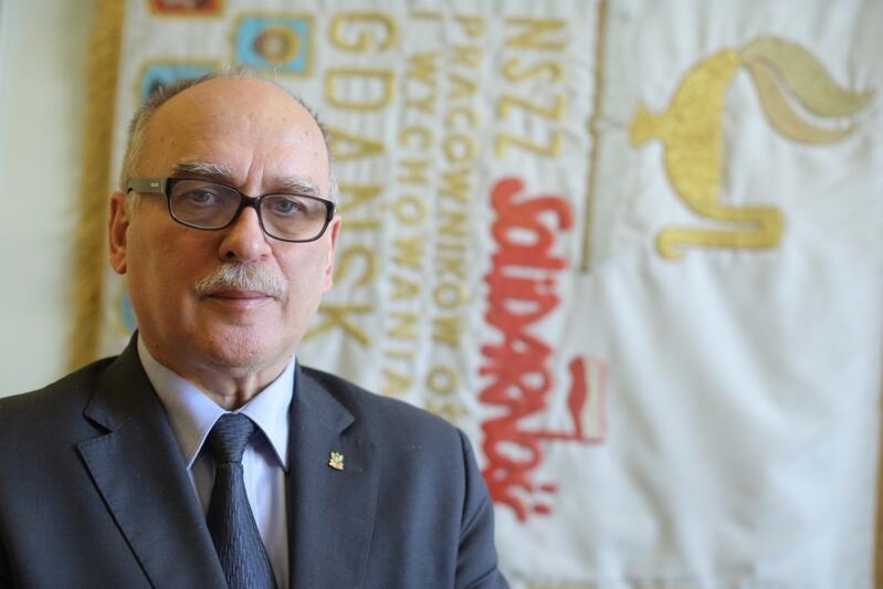 Wojciech Książek, przewodniczący Sekcji Oświaty i Wychowania NSZZ Solidarność